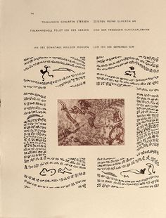 Untitled, pg. 14 (left-hand side), in the book Maximiliana ou l'exercice illégal de l'astronomie: L'Art de voir de Guillaume Temple by Max Ernst (Paris: Iliazd, 1964).