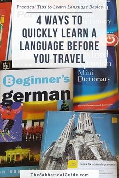 Quickly learning a language before you travel can really help you enjoy your travels. Whether it's interacting with local people or the ability to find your way around easier quickly learning some language basics can be really useful.  Learn a language Language learning tips How to learn a language