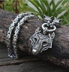 Metal Color: Brass Plated, Length: 45cm Calvas Ethnic Vegvisir Compass Pendant Necklace Men Women Pagan Norse Jewelry Viking Drop Shipping