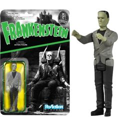 "Universal Monsters - Frankenstein's Monster ReAction 3.75"" Action Figure (Series 1)"