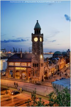 Hamburg, Germany..last time I was here I sat by the sea and ate matjes fillet with good friends.. .