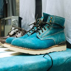 Suede boots #dsmny #nyfw photo Thomas Welch