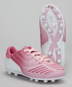 save off bb453 e16f9 Pink Velocity Soccer Cleat  18.99 perfect for when my little princess  starts playing soccer (which