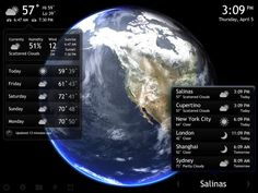 Living Earth for iPad review: The best weather app for the iPad | iMore - via http://bit.ly/epinner