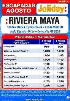 Riviera Maya, Escapadas Agosto salídas 6 y 7 Agosto desde Madrid desde 950€ Tax. Incluídas - http://zocotours.com/riviera-maya-escapadas-agosto-salidas-6-y-7-agosto-desde-madrid-desde-950e-tax-incluidas/