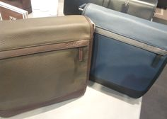 COACH Messenger Bag (Brown & Blue) #Bag #COACH #Dubai #UAE #AbuDhabi #USA