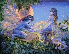 Peinture féerique de Josephine Wall