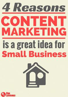 4 Reasons Why Content Marketing is Important for Small Business