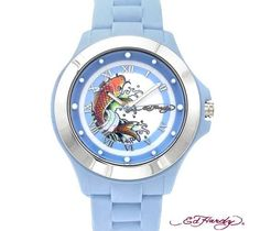 BRAND NEW ED HARDY EHMTBL Men's Watch FREE SHIPPING $45.00