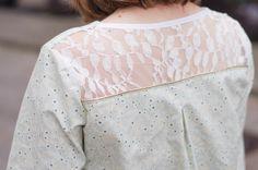 Blouse Coquelicot // Histoire de coudre Patron de couture blouse femme Made by Atelier Svila