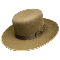 """The AUSTRAL Style is Part of The STETSON OLD WEST BUFFALO COLLECTION. Made from American Buffalo Felt, it Is Water Resistant & Tuff in Any Weather. Buffalo Fur Quality: 4XXXX. Brim: 3 1/2"""", Crown: 4 1/2"""". Bound Edge. Regular price: $145.99.  Sale price: $134.99. Las Botas Vaqueras.com. www.lasbotasvaque..."""