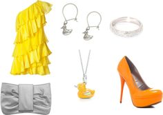 """""""Duck"""" by jessica-m-erb on Polyvore"""