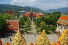 from Wat Chalong temple, Phuket