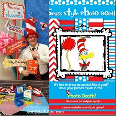 Dr Seuss Photo Booth Carnival obSEUSSed
