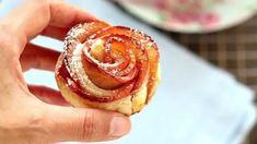 Rose di mela con pasta sfoglia - Chiarapassion