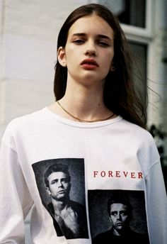 Jenna Roberts at Select Model Management. I love her shirt so much
