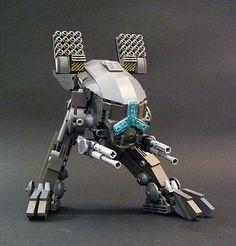 Raging Volt Lego Mech. #lego #mech #robot