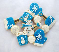 Fun winter cookies