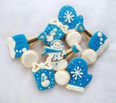 Fun winter cookies