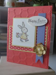 Easter Stamp Camp Card