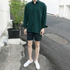 Korean Fashion Men, Korea Fashion, Kpop Fashion, Grunge Fashion, Teen Fashion, Fashion Outfits, Latest Mens Wear, Asian Street Style, Outfit Grid