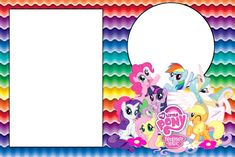Image result for invitaciones de my little pony equestria