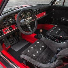 Inside the Le Mans commission - Auto tuning - Autos Porsche Autos, Bmw Autos, Porsche 930, Porsche Cars, Custom Car Interior, Car Interior Design, Truck Interior, Le Mans, Jetta Mk1