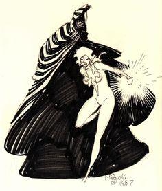 Cloak & Dagger by Mike Mignola