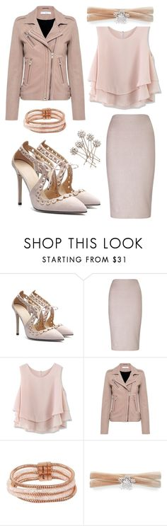 """Subdued Chic"" by discobubbles ❤ liked on Polyvore featuring Miss Selfridge, Chicwish, IRO, Betsey Johnson and Fallon"
