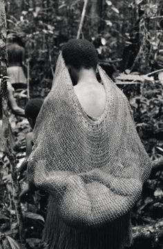 Kombai woman and her baby, Irian Jaya, Indonesia by Frederic Lagrange