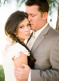 A Relaxed Vintage Handmade Wedding | Glamour & Grace. These pictures warm a heart