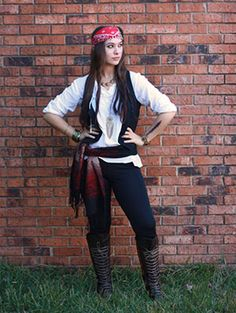 pirate teen girl costume diy - Google Search