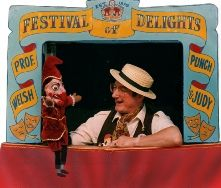 Frank Welsh from the West Midlands. Punch and Judy Puppeteer