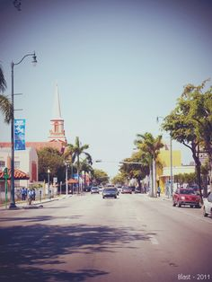 Calle Ocho, Miami.  I love the food, the shops, the people.