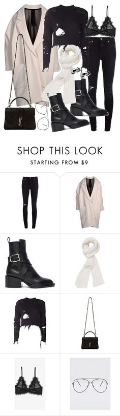 """""""Untitled #20640"""" by florencia95 ❤ liked on Polyvore featuring Closed, Petar Petrov, Jil Sander, Stella T., adidas Originals, Yves Saint Laurent and Anine Bing"""