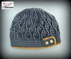 Adult Cable Beanie by AuntMosWarmFuzzies on Etsy, $22.00
