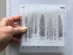 2019 Embossing Folder Technique Quick The post Embossing Folder Technique Quick & Easy Christmas Card! 2019 appeared first on Scrapbook Diy. Card Making Tips, Card Making Tutorials, Card Making Techniques, Making Ideas, Homemade Christmas Cards, Homemade Cards, Handmade Christmas, Prim Christmas, Christmas Jokes