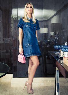 Lala Rudge Vestido: Mixed Sapato: UZA by Lala Rudge Bolsa: Delvaux