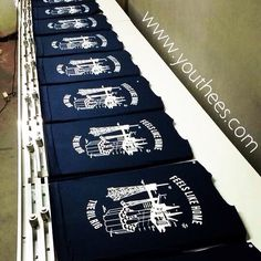 Manual screenprinting, sablon kaos,rubber ink,youthees,jakarta
