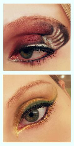 Asgardian Eye Makeup : Thor and Loki (Marvel) by RayDoesFX