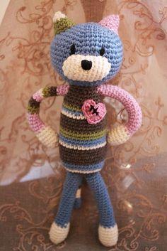 cat #amigurumi #crochet