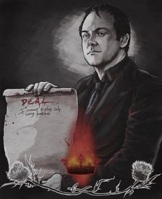 Fan Art of Crowley #Supernatural #SPN