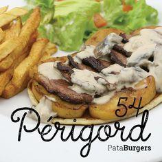 54 - Périgord Tranches de magret de canard - pomme cuite - sauce forestière