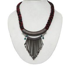 Ethnic Tribal Black Metallic Brass Metal Necklace Women Fashion Indian Jewelry   eBay