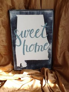 Sweet Home Alabama by TheArtShopHamilton on Etsy, $35.00