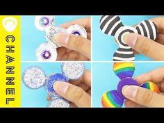ハンドスピナー おりがみで作ったよ♪【作り方】DIY - YouTube