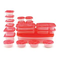 38 Piece Container Set by Home Locomotion Kids Part, Storage Sets, Lunch To Go, Food Storage Containers, Kitchen Accessories, Seasonal Decor, Side Dishes, Eat, Press Release