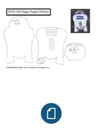 0cfcc0e4448 R2D2 puppet pattern. Cali Wedding Planner · Star Wars