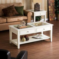 Harper Blvd Quincy White Cocktail Display Table (White)