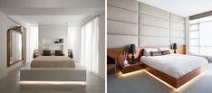 9 Examples Of Beds With Hidden Lighting Underneath | CONTEMPORIST